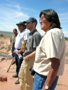 Hopi Consultation Team. Comprising elders, archaeologists and ethnographers.
