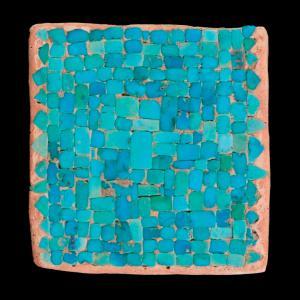 Turquoise Mosaic. Photo Credit: Dan Boone/Ryan Belnap, Bilby Research Center, Northern Arizona University.
