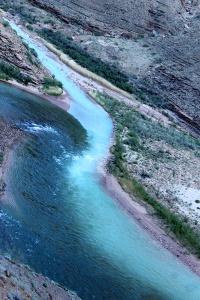 Confluence of Little Colorado and Colorado Rivers.